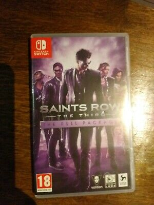Saints Row: The Third - The Full Package (Nintendo Switch) 18 + game