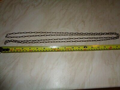 "Solid Brass Clock Chain 6 Foot Long, Approx 1/2"" Link"