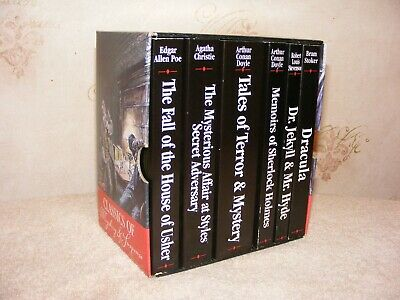 Classics of Mystery and Suspense. 6 Book Set. Paperbacks. 2001