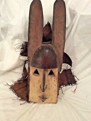 Authentic African Tribal Mask.- .Dogon Tribe....Mali Early, 20th Century.