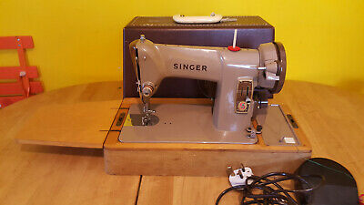 Vintage SINGER 185k Electric Sewing Machine very good condition