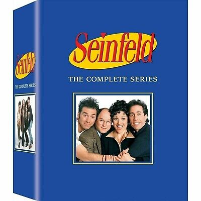 Seinfeld The Complete Series 1-9 season collection  (DVD, 33-Disc box Set)