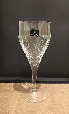 Royal Doulton Fine Lead Crystal Dorchester Goblets (280ml) Set Of 6 Boxed New