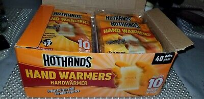 Hot Hands foot warmers 2 Insoles per pack  40 PACK