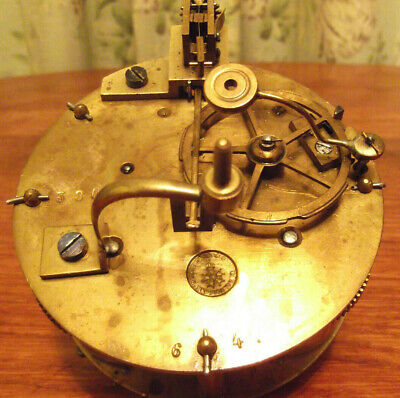 Antique clock movement.   Japy Freres
