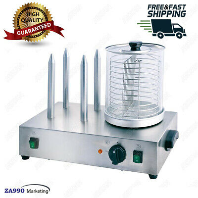 Commercial 600W Electric Hot Dog Steamer Machine