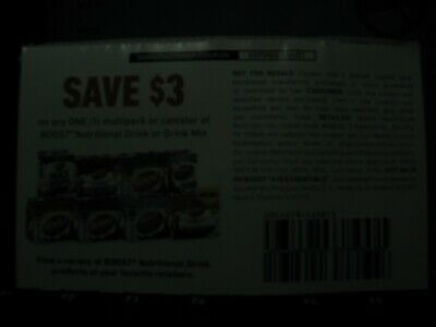 7 BOOST nutritional drink $3.00 off coupons exp 1/31/21  $21 value (see descript