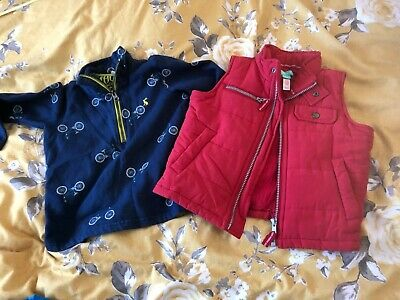 Boys Age 3-4 small bundle. Monsoon Gillet and Joules sweatshirt