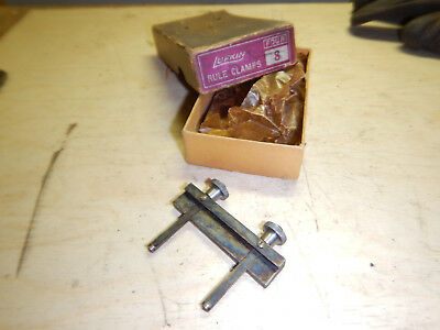 Vintage Lufkin Rule Clamp No. 8 In Box Machinist Tool