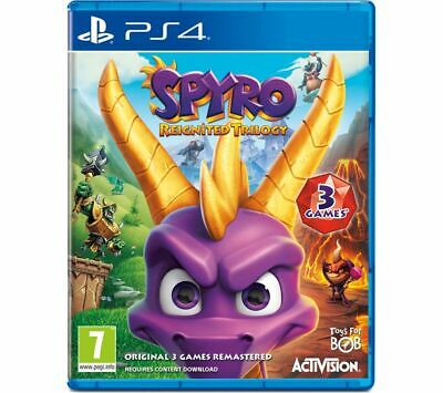 Spyro Trilogy Reignited Playstation 4 NEW Sealed Fast