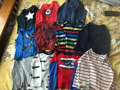 Boys long sleeved t-shirt bundle (11 items) Next, Gap, H &M, Mothercare, Blue Zo