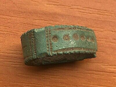 Ancient Celtic Bronze Finger Ring Circa 300-100 BC Very Rare