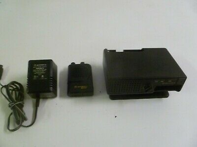 Motorola Minitor III 3 Stored Voice 151-158.9 MHz VHF Fire EMS Pager w Charger