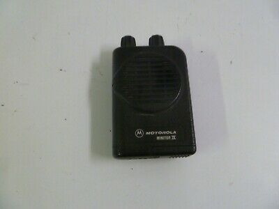 Motorola Minitor IV 45-48.9 MHz Two Channel Low Band Fire EMS Pager o456