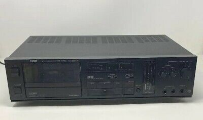 KENWOOD TRIO Stereo Cassette Deck - KX-550HX - Tested Working