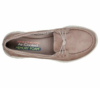 BRAND NEW LADIES Skechers Wave Lite Womens Slip On Loafers shoes Taupe size 5 CO