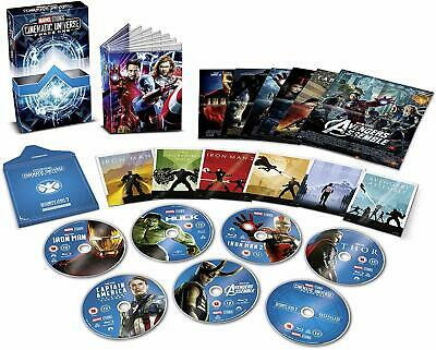 Marvel Studios Cinematic Universe: Phase 1 (Collector's Edition Box Set) BLU RAY