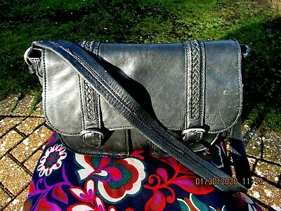HIDESIGN by Radley Large Black Leather bag