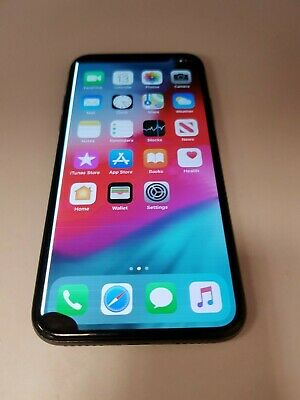 DAMAGED Apple iPhone X - 64GB - Space Grey (Unlocked) A1901 (GSM)