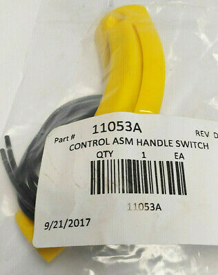 5 Control ASM Handle Switches PN 11053A, Nilfisk Advance, Clarke, Viper Machines