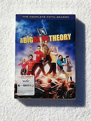 The Big Bang Theory: The Complete Fifth Season (DVD, 2012 3-Disc Set) NEW Sealed
