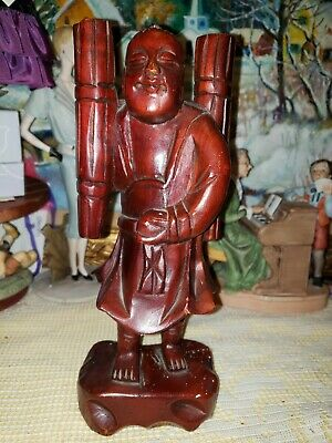 China antique wood hand carved statue