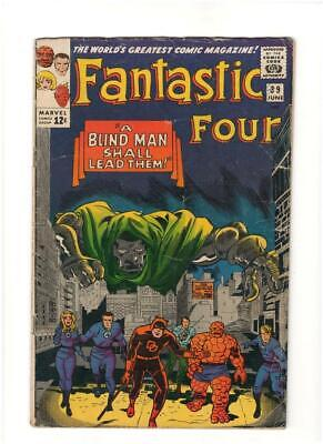 Fantastic Four #39 (1965) Versus Doctor Doom; A Blind Man Shall Lead Them! 5.0