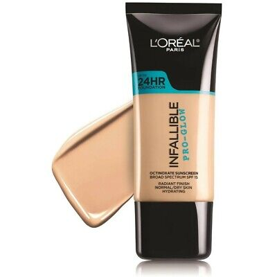 L'Oreal Paris Infallible Pro-Glow Foundation, 202 Creamy Natural