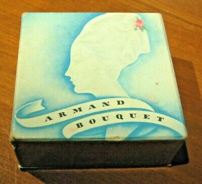 Vintage Powder, Armand bouquet box with left over powder