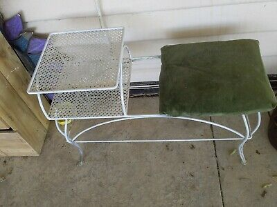 Wrought Iron Telephone Table