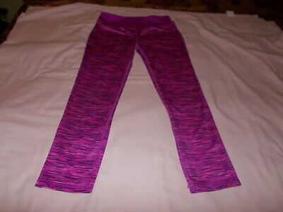 Girls Danskin Now Leggings Pants Size XL 14-16 Pink Purple