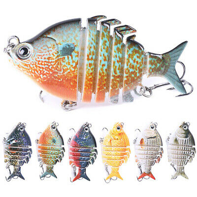 CW_ Fishing Lures Sinking Wobblers Multi Jointed Swimbait Lure Hard Bait new