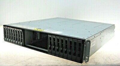 IBM Storwize V3700 2072-24C Expansion Enclosure + 2x Node Canister, 8x 900GB HDD