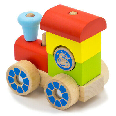 Alatoys Wooden Kids Train New Arrival Eco Toy Locomotive Engine Playset