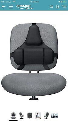 Fellowes Back Support Chair Black 8037601