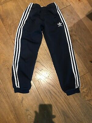 boys addidas tracksuit bottoms, Navy, age 11-12years