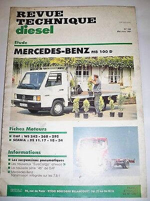 MERCEDES BENZ MB 100D - Revue Technique Diesel
