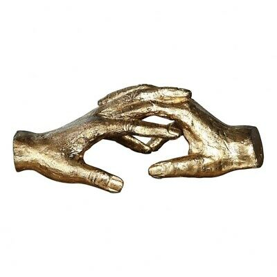 Uttermost-20121-Hold My Hand - 9 Sculpture  Antiqued Gold Leaf Finish