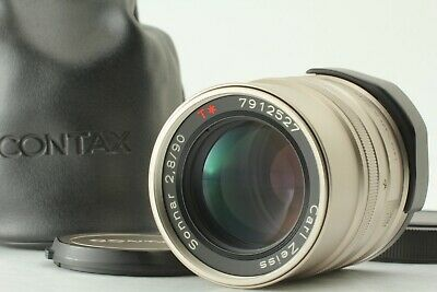 [Exc+5] Contax Carl Zeiss Sonnar 90mm F2.8 T* for G1 G2 Lens from Japan #221