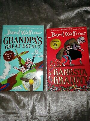 Grandpa's Great Escape & Gangsta granny by David Walliams (Paperback, 2017)