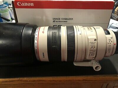 Canon  EF 100-400mm f/4.5-5.6L IS USM Lens - White