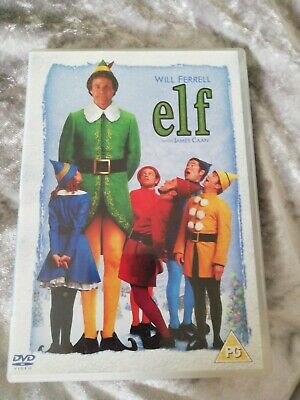 Elf (DVD, 2005) Christmas comedy, will Ferrell with James caan