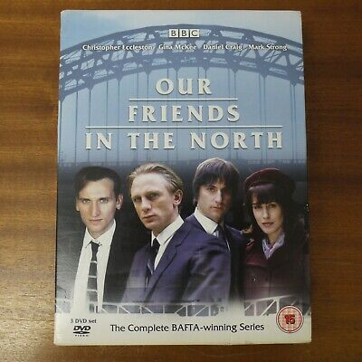 Our Friends In The North TV BBC DVD 3 Discs Box Set Region 2