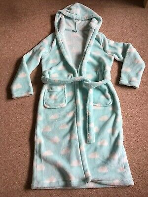 M&S Girls Dressing Gown Age 11-12