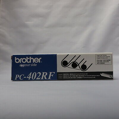 Insten 2 Pack PC402RF Black Thermal Fax Ribbon for Brother Printer