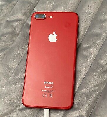 Apple iPhone 8 Plus (PRODUCT)RED - 64GB - (EE) A1897 (GSM)