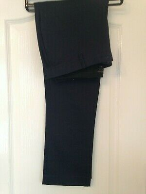 River Island Navy Blue Chino Trousers - Gents UK 34
