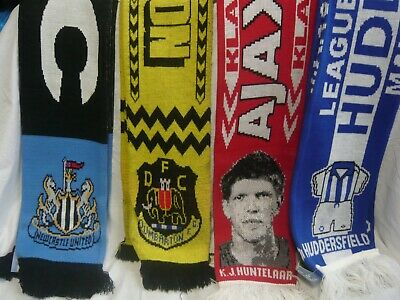 4 Assorted Football Club Scarves