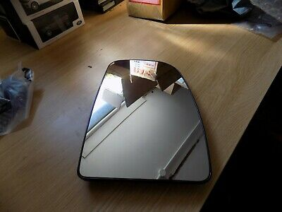 Citroen Relay Peugeot Boxer 2006 Onwards Drivers Side Heated Wing Mirror Glass