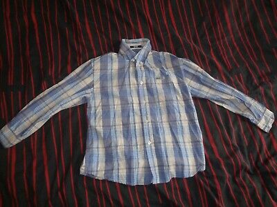 gap boys kids top button long sleeve cotton shirt aged 7 to 8 years old